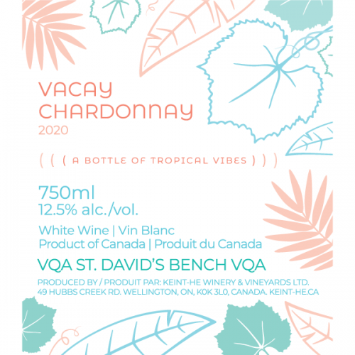 2020 Vacay Chardonnay